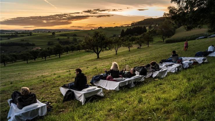 Draussen auf dem Land spielt die Neue Musik. Nur noch zweimal schlafen bis zum Start des diesjährigen Festivals in Rümlingen.