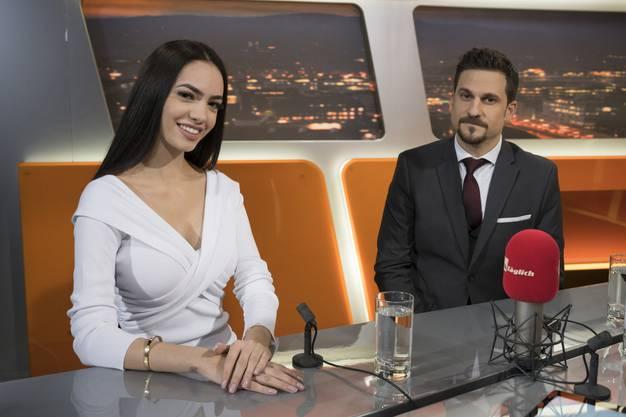 Jastina Doreen Riederer mit Anwalt Daniele Di Muccio.