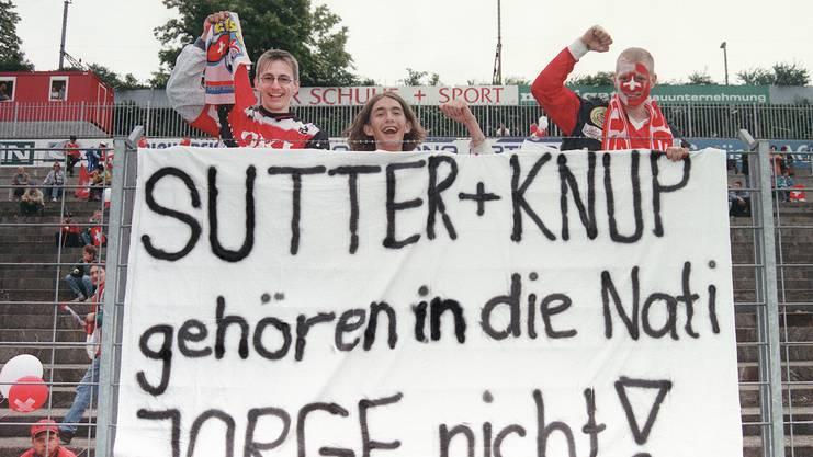 Die Meinungen zum Rauswurf von Alain Sutter und Adrian Knup sind schnell gemacht.