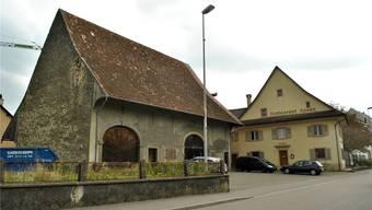 Die Rösslischüüre wurde zuletzt für kulturelle Anlässe genutzt. Jetzt soll darin ein Restaurant entstehen. Das ehemalige Restaurant wird derweil abgerissen.Nadine Böni