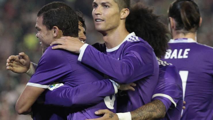 Er wird wohl noch viele Jahre für Real Madrid jubeln: Cristiano Ronaldo