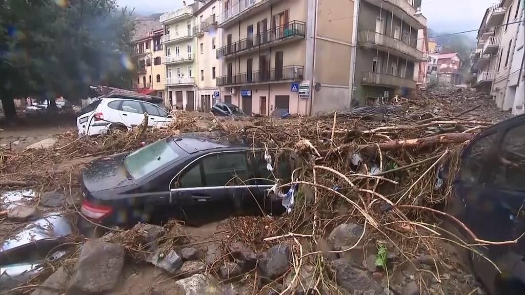 Heftige Unwetter auf Sardinien fordern mindestens zwei Tote