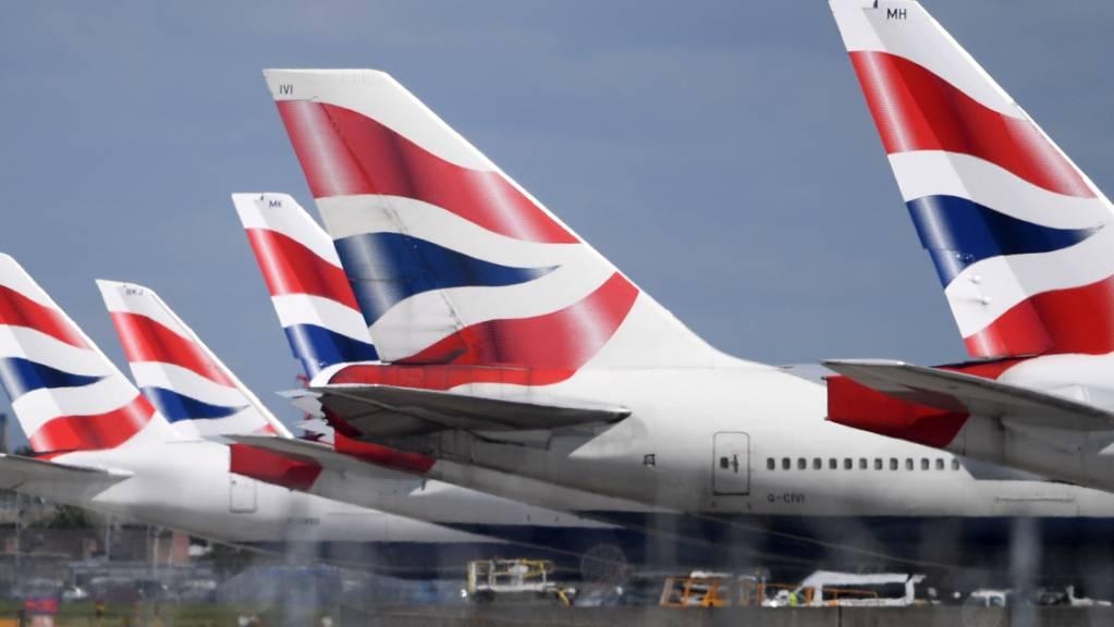 British-Airways-Mutter IAG mit weiterem Milliardenverlust. (Archiv)