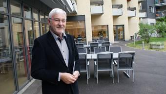 Alfred Sutter, Präsident des gemeinnützigen Vereins für Alterswohnheime Möhlin.