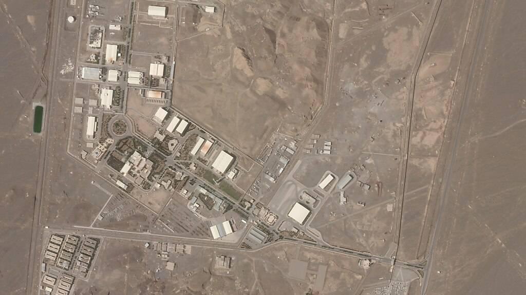 Das Satellitenfoto von Planet Labs Inc. zeigt die iranische Nuklearanlage Natans am 07.04.2021. Foto: --/Planet Labs Inc./AP/dpa - ACHTUNG: Nur zur redaktionellen Verwendung und nur mit vollständiger Nennung des vorstehenden Credits
