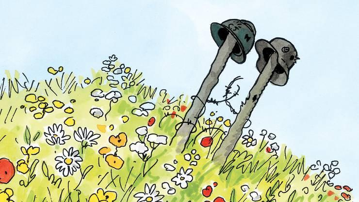 DLQS_33.tif Der französische Comic-Meister Jacques Tardizeigt im Basler Cartoonmuseum sein aktuelles Werk