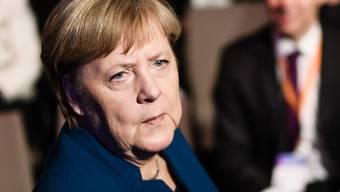 Die deutsche Bundeskanzlerin äussert sich kaum zu den Vorgängen in ihrer Partei.