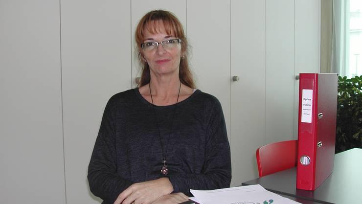 Geschäftsführerin der fusionierten Spitex ist Jacqueline Santangel.