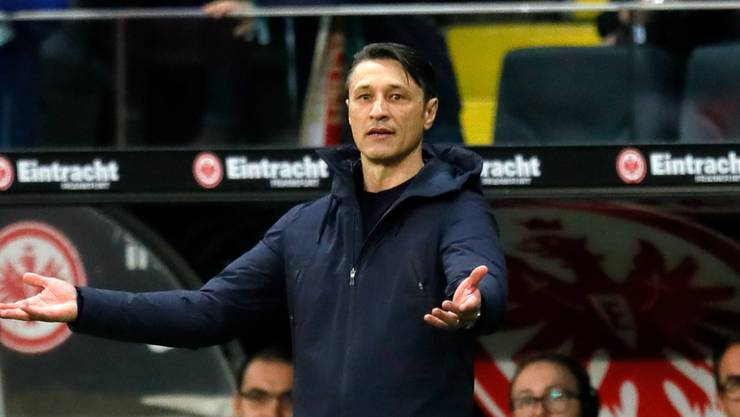 Trainer Niko Kovac muss gehen.