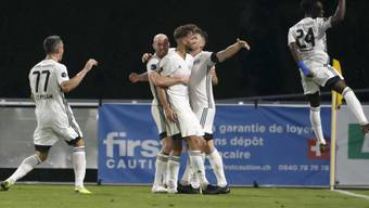 Grosse Feier in Nyon: Stade Lausanne-Ouchy fügt dem Stadtrivalen Lausanne-Sport eine empfindliche Niederlage zu