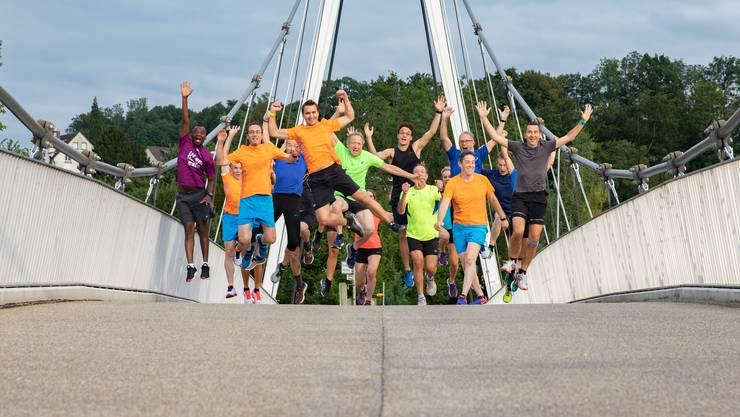 Die Jogger feiern 10 Jahre Laufträff Solothurn