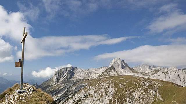 Gipfelkreuz im Alpsteingebiet (Symbolbild)