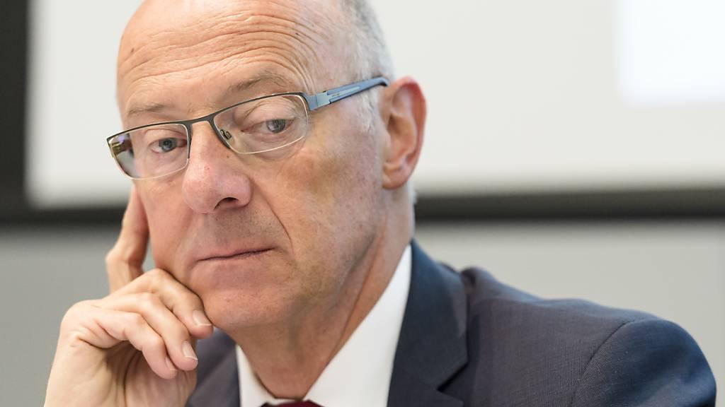 Die Bundesanwaltschaft erhebt Anklage gegen Ex-Topsanierer Hans Ziegler. (Archiv)