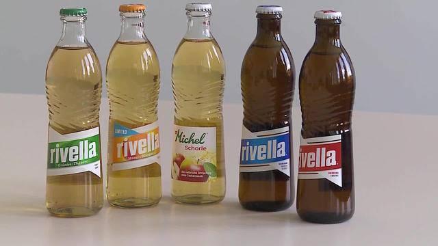 Rivella ruft Glasflaschen zurück!
