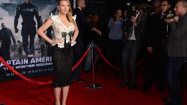 Werbeträgerin und Schauspielerin Scarlett Johansson