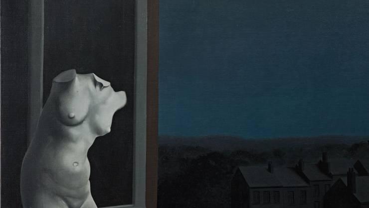 """""""La belle de nuit"""" von René Magritte."""