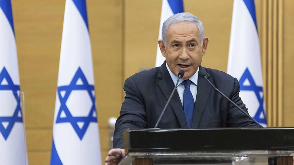 Ministerpräsident Benjamin Netanjahu steht offenbar vor seiner Ablösung.