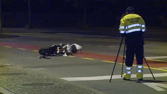 Nach Gerichtsurteil: Die Bilder des tödlichen Unfalls mit Motorradfahrer in Baden