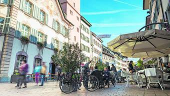 Die Altstadt von Rheinfelden ist ein Bijou – allerdings sind die leer stehenden Ladenflächen keine gute Visitenkarte.