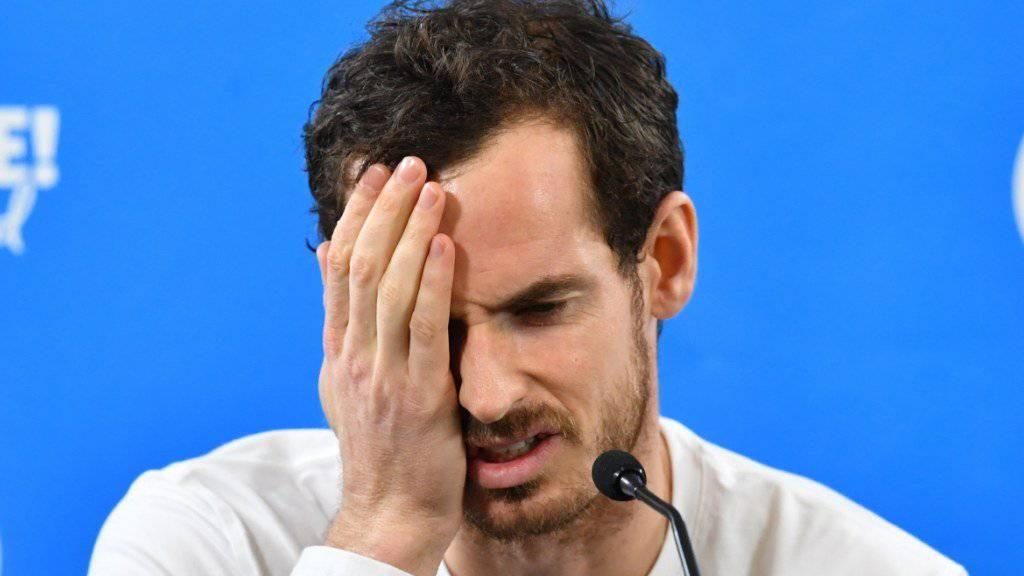 Andy Murray muss sein Comeback verschieben