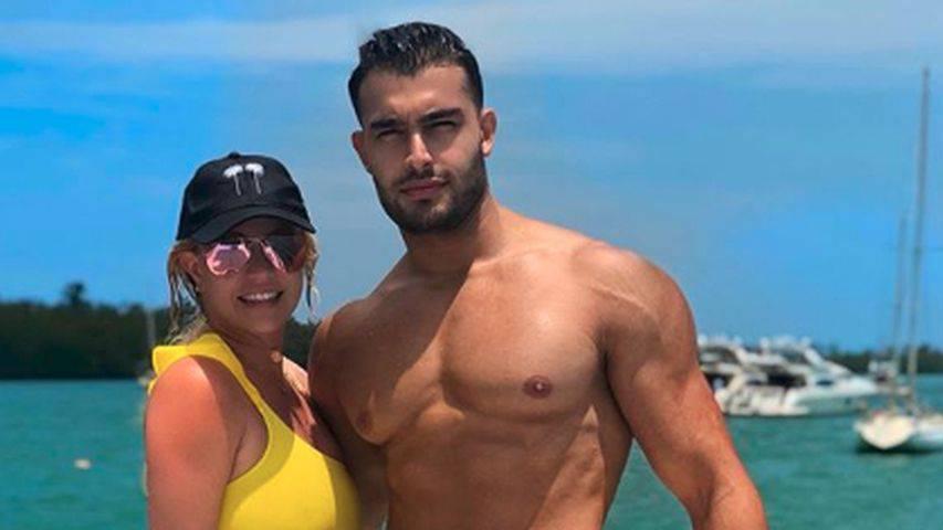 Britney total verliebt in Miami