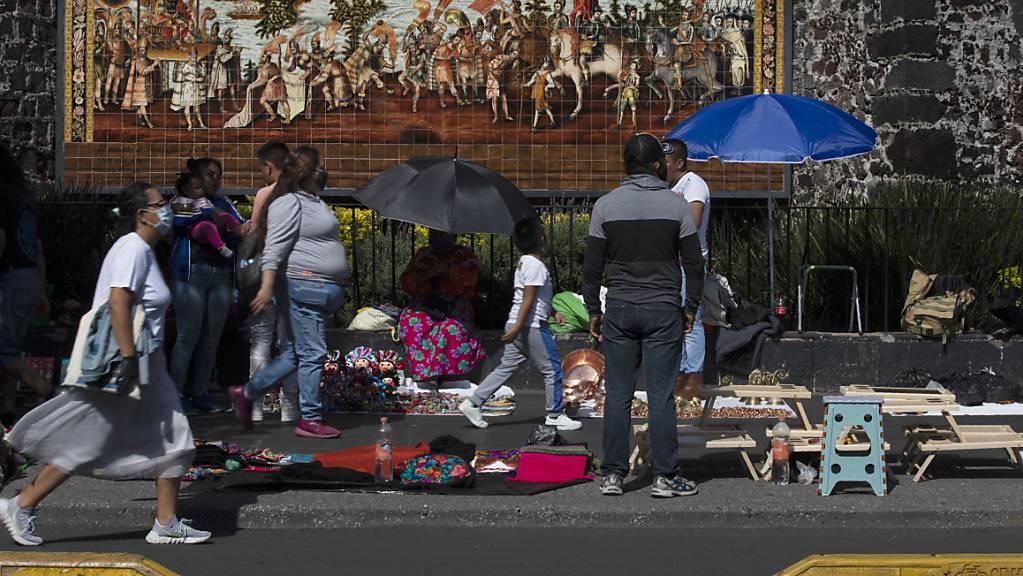 Mexiko gehört zu jenen Staaten, die am meisten von der Corona-Pandemie betroffen sind. Zahlreiche Stellenverluste sind die Folge. (Archivbild)