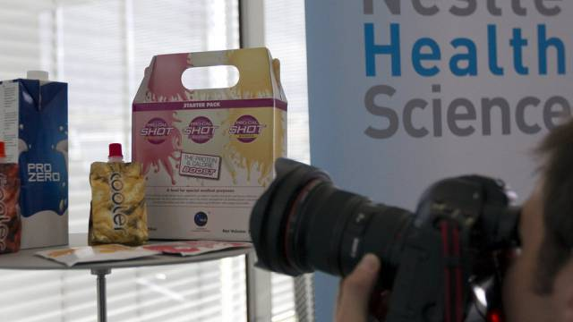 Nestlé Health Science fördert biologische Medikamente (Archiv)