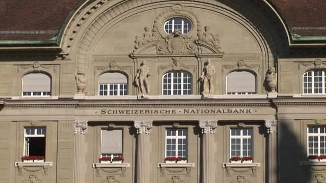 Nationalbank führt Negativzins ein