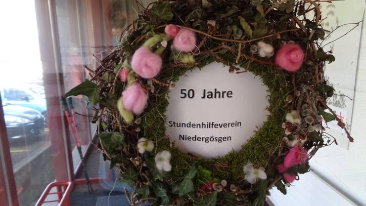 50. Jahre Stundenhilfe Niedergösgen