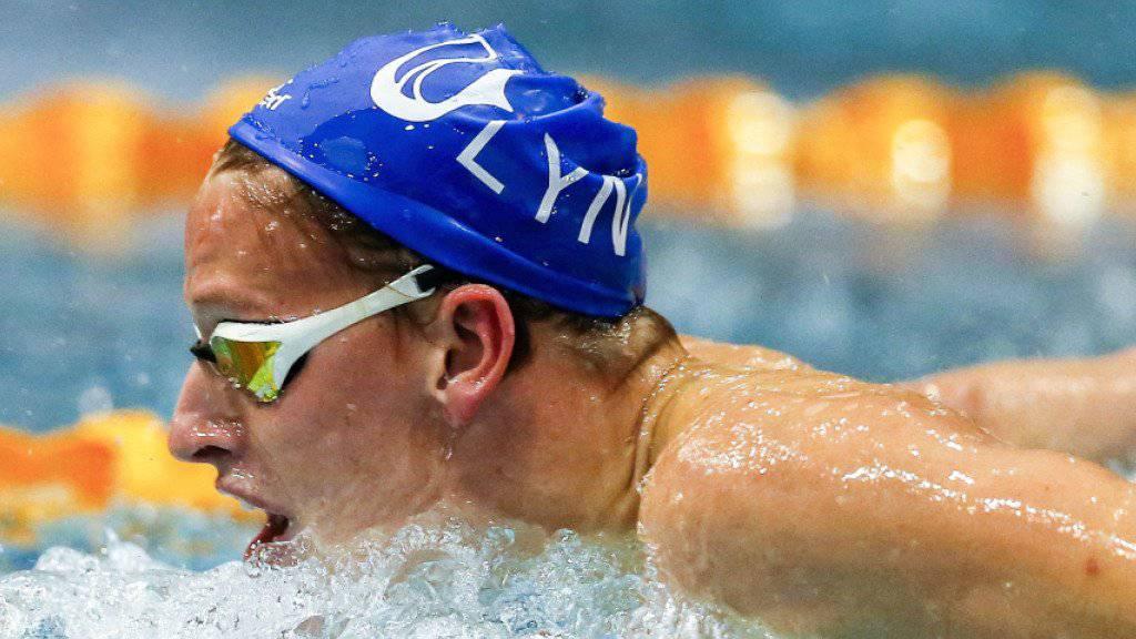 Niels Liess erschwimmt sich an den Schweizer Schwimm-Meisterschaften das Ticket für die WM in Budapest