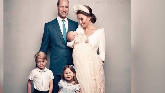 Die süssen Taufbilder von Prinz Louis