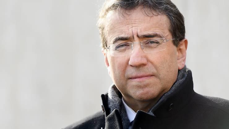 Die Waadtländer Regierung äusserte sich am Dienstag erstmals im Kantonsparlament zum Steuerdossier des Finanzdirektors Pascal Broulis. (Archivbild)
