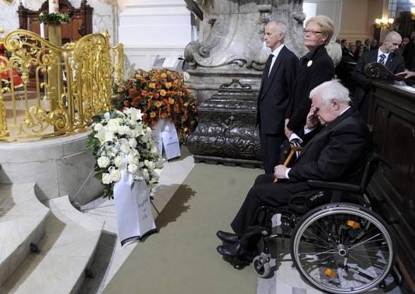2010 starb Helmut Schmidts Ehefrau Loki