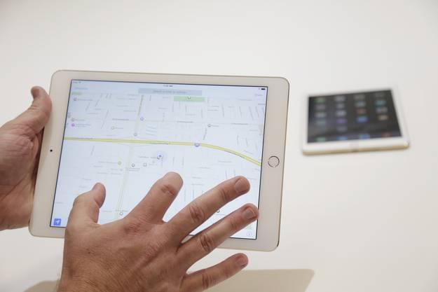 Durch die Anti-Reflexions-Schicht soll das iPad Air 2 56 Prozent weniger spiegeln.