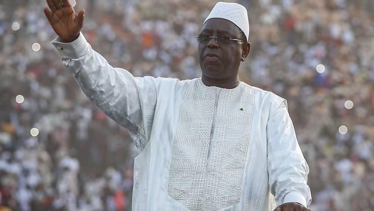 Macky Sall ist zum zweiten Mal als Präsident von Senegal vereidigt worden. (Archivbild