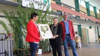 Barbara Buser hat den Naturschutzpreis der Baselbieter Pro natura 2017 erhalten.