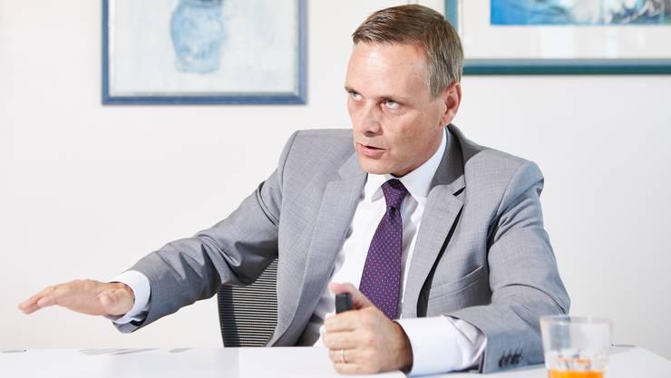 Gesundheitsdirektor Jean-Pierre Gallati.