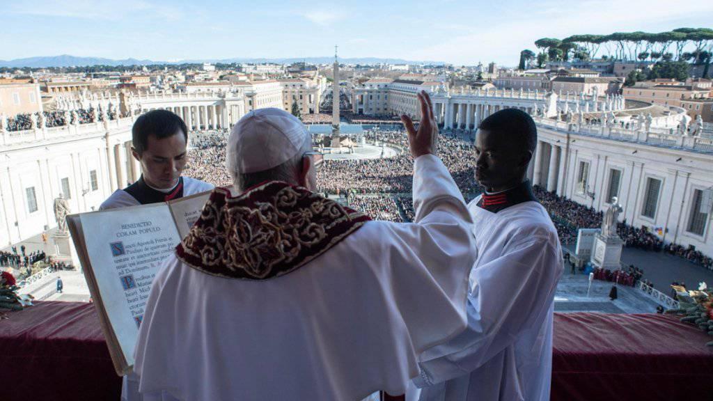Franziskus ruft Gläubige zu Versöhnung auf