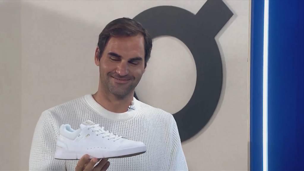 Roger Federer präsentiert seinen Schuh «The Roger»