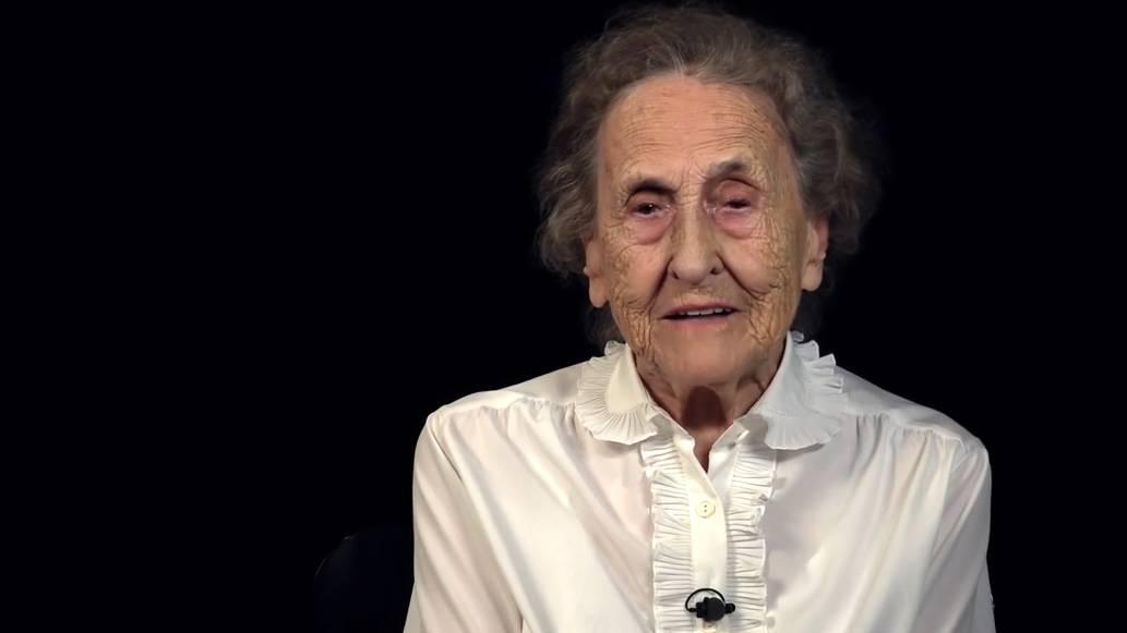«Sex habe ich keinen mehr, sonst wäre ich wohl ziemlich anspruchsvoll»: Frau Hof-Meier im Video von SRF Virus.