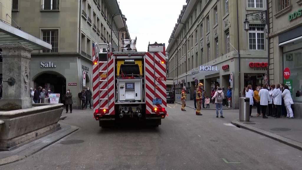 Polizei- und Feuerwehreinsatz in der Neuengasse