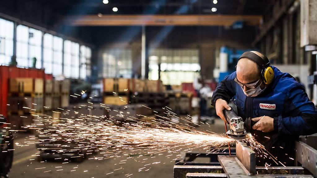 Eine Mehrheit der Schweizer Unternehmen glaubt an einen weiteren Aufschwung in den kommenden Jahren. (Archivbild)