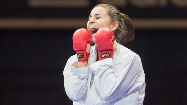 Jubelt erneut: Elena Quirici gewinnt in Istanbul Gold.
