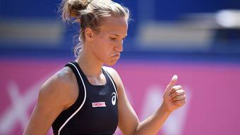 Viktorija Golubic feierte einen Auftaktsieg am WTA-Turnier in Hiroshima
