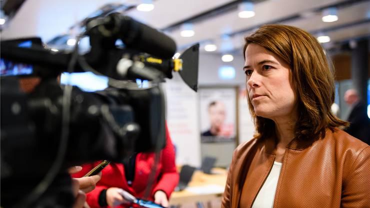 FDP-Präsidentin Petra Gössi hat erfolgreiche Tage hinter sich.