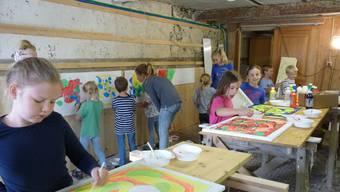 «Kleine Kinder – Grosse Kunst» in Messen