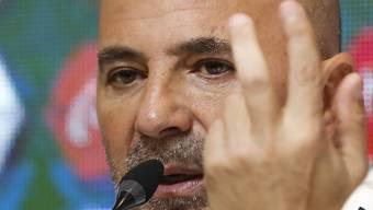 Jorge Sampaoli gibt in Buenos Aires sein WM-Kader bekannt