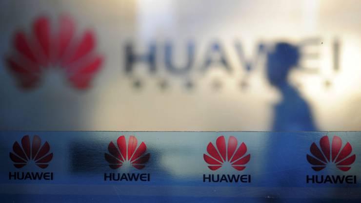 Die chinesische Firma Huawei ist auch auf der schwarzen Liste des Bundes.