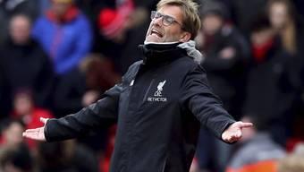 Kommt mit Liverpool nicht vom Fleck: Trainer Jürgen Klopp