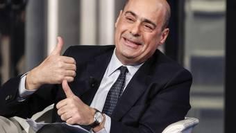 Muss die Partei aus der Krise führen: Nicola Zingaretti, neuer Vorsitzender der Sozialdemokraten in Italien. (Archivbild)